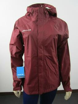 NWT Womens M-XL Columbia Gable Pass Waterproof Rain Shell Ja