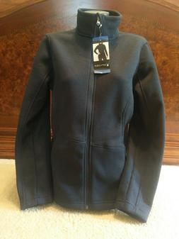 NWT Womens Navy Blue Spyder Cable Mid-weight Sweater/Jacket