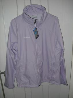NWT Womens Columbia Switchback III Rain Jacket Soft Violet S