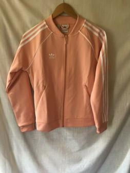 Adidas Originals SST TRACK JACKET Dust Pink Women's Sz XS