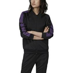 Adidas Originals Superstar Womens Track Jacket Black dv0132