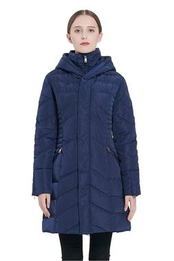Orolay Women's Thickened Coat Puffer Down Jacket