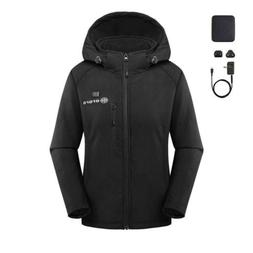 ororo Women's Slim Fit Heated Jacket with Battery Pack and D