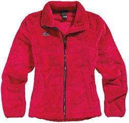 The North Face Women's Osito 2 Full Zip Jacket Cerise Pink &