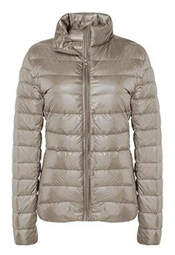 ZSHOW Women's Outwear Down Coat Lightweight Packable Powder