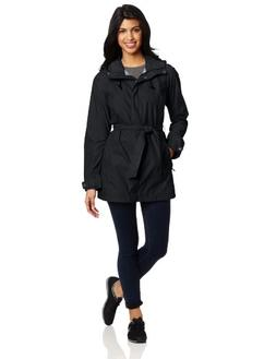 Columbia Pardon My Trench Rain Jacket - Women's Black, S