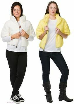 Plus Ladies Women Duck Down and Feathers Lining Jacket Light