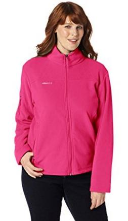 Columbia Women's Plus-Size Fast Trek II Full Zip Fleece Jack