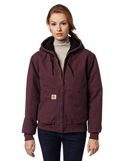 Carhartt Women's Quilted Flannel Lined Sandstone Active Jack