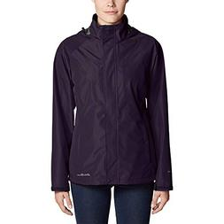 Eddie Bauer Women's Rainfoil Packable Jacket, Deep Eggplant