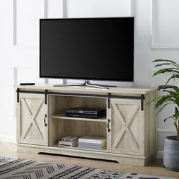 Rustic TV Stand up to 64 Inch Entertainment Center Smart 4K