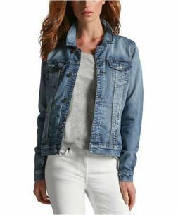 SALE! Buffalo Ladies' Stretch Knit Denim Lightweight Jacket