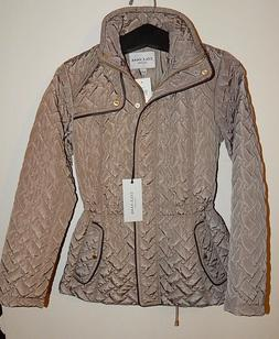 COLE HAAN SIGNATURE Women's QUILTED LIGHTWEIGHT JACKET sz XS
