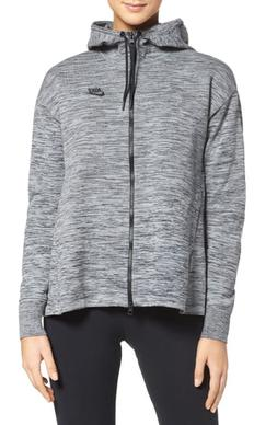 Women's Nike Sportswear Tech Knit Jacket, Size Large - Grey