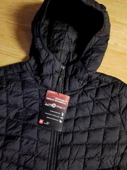 THE NORTHFACE  NEW  Womens L Thermoball Hoodie FZ Jacket  Bl
