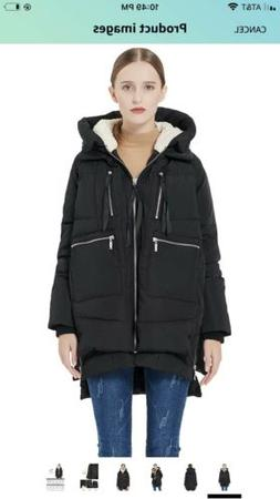 Orolay Thickened Down Jacket Womens Puffer Coat Winter THE A
