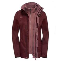 The North Face Triclimate 3-in-1 Garnet Red Hooded Jacket fo