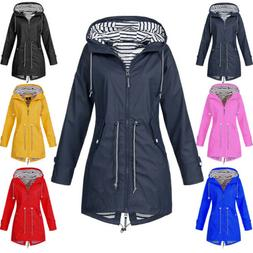 US Womens Winter Warm Wind Jacket Waterproof Raincoat Outdoo