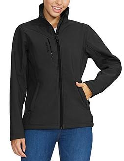 Baleaf Women's Waterproof Windproof Outdoor Softshell Jacket