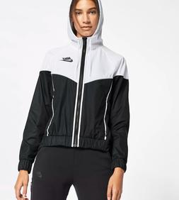 Nike Womens Windrunner Track Jacket Black/White 883495-011 S