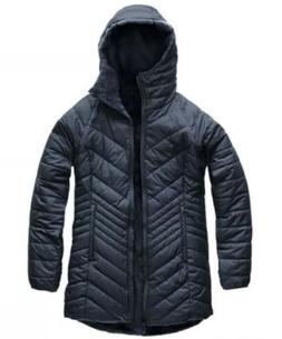 Women The North Face Mossbud Insulated Navy BLUE Jacket New