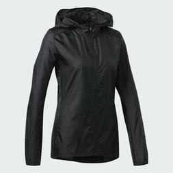 adidas Women's Black Own the Run Response Jacket