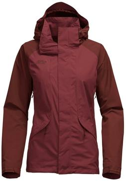 The North Face Women's Boundary 3in1 Jacket. Barolo Red/Sequ