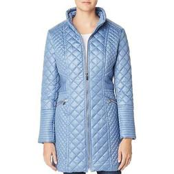 Via Spiga Women's Diamond Quilted Mid-Length Jacket Coat