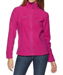 Columbia Women's Fast Trek II Full Zip Soft Fleece Jacket Pi