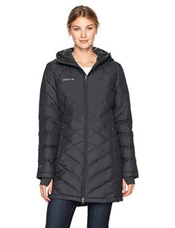 Columbia Women's Heavenly Long Hooded Jacket, Black, Small