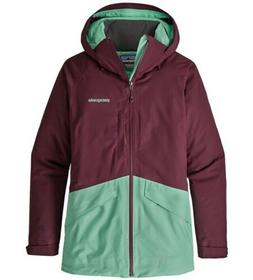 WOMEN'S PATAGONIA INSULATED SNOWBELLE JACKET - DARK CURRANT