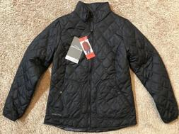 Eddie Bauer Women's Mod Quilt Light Jacket Black M