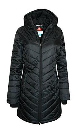 Columbia Women's Morning Light II Omni Heat Long Jacket Coat