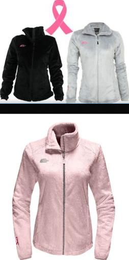 The North Face Women's PINK RIBBON Osito 2 Jacket.