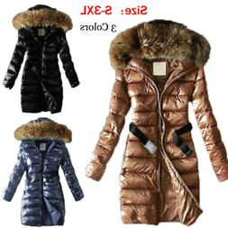 women s quilted down coat thickened warm
