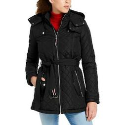 Tommy Hilfiger Women's Quilted Lightweight Hooded Winter Ful