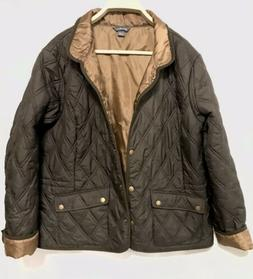 Eddie Bauer Women's  Quilted Lightweight Jacket Size 2XL Bro