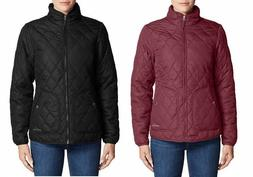Eddie Bauer Women's Quilted Mod Jacket Water Repellent *NEW*
