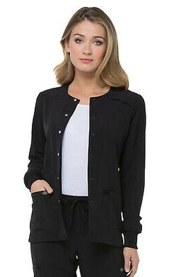 Dickies EDS Essentials Women's Snap Front Scrub Jacket