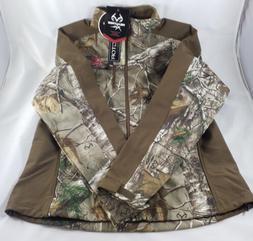 Realtree Women's Softshell Jacket - Camo Hunting Outdoor Siz