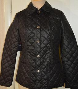 Women's St. John's Bay Black Lightweight Everyday Quilted Co