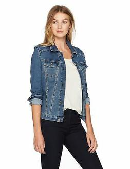 Riders by Lee Indigo Women's Stretch Denim Jacket, Weathered