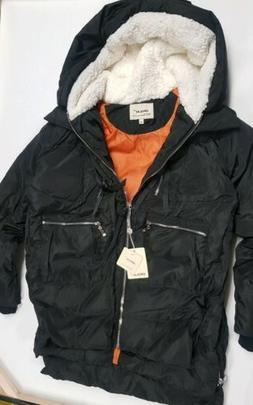 Orolay Women's thickened Down Jacket, Black Size M