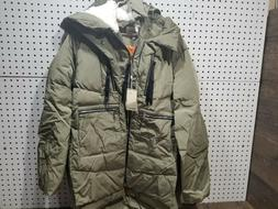Orolay Women's Thickened Down Jacket, Green, XL - NWT