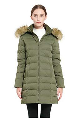 Orolay Women's Thickened Down Jacket Winter Coat YRF8003Q Ar