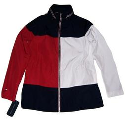 TOMMY HILFIGER  Women's Yacht Jacket  Windbreaker with Hood