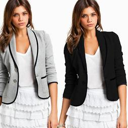 Women Stylish Casual Formal Short Slim Fit OL Office Suit Co