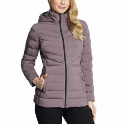 32 Degrees Womens 4 Way Stretch Puffer Zip Up Jacket S M L X