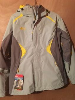 THE NORTH FACE WOMENS BOUNDARY TRICLIMATE JACKET 3 IN 1 YELL