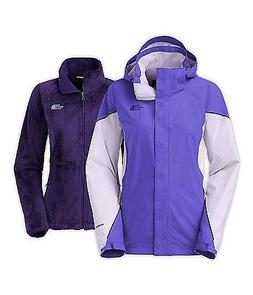 THE NORTH FACE WOMENS BOUNDARY TRICLIMATE JACKET 3 IN 1 PURP
